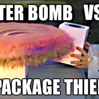 Stoppa frakttjuvarna med en hemmabyggd glitterbomb
